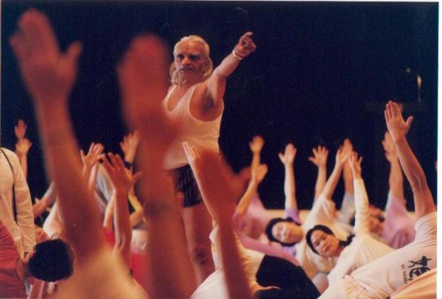 B.K.S.Iyengar Yoga convention at Tokyo American Club